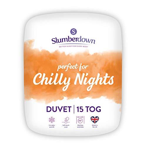 Slumberdown Chilly Nights - Edredón de Invierno para Cama King Size (15 togs)