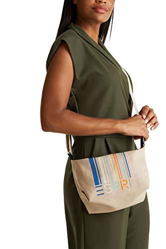 ESPRIT Accessoires Damen 050EA1O316 Umhängetasche, 270/BEIGE, 1SIZE