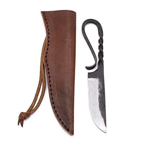 Vehi Mercatus Wikinger Messer mit Lederscheide