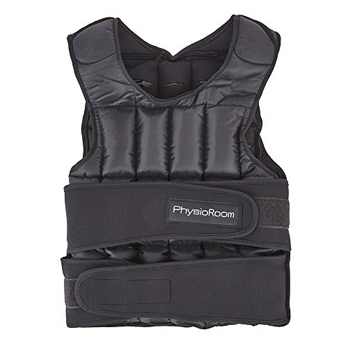 15kg Fitness Exercise Weight Vest - Adjustable and Comfortable Shoulder Padded...