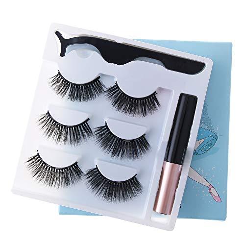Outil de maquillage Espace magnétique Waterproof Nature Inclinaison Mascara magnétique Forceps Stylo de ligne magnétique(CT308)