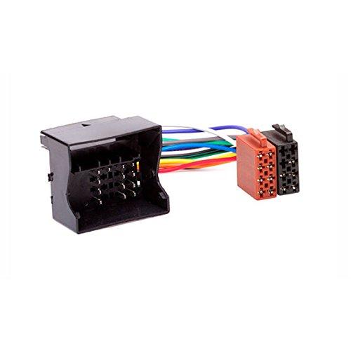 CARAV 12-027 ISO Adapter Cable. Radio Adapter para Fluence 2010+; Megane III 2008+; Scenic, Grand Scenic 2009+
