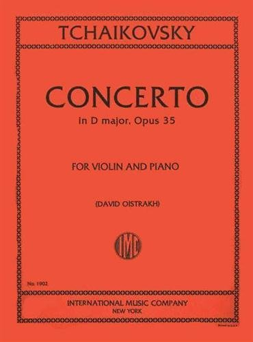Tchaikovsky: Concerto in D Major, Op. 35, for Violin and Piano