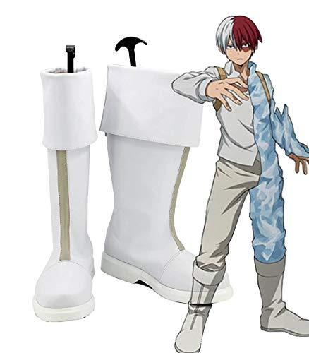 Mein Held Academia Boku Kein Held Academia Shoto Todoroki Cosplay Stiefel Schuhe Cosplay Maßgeschneiderte europäische Größe 40 weibliche Größe