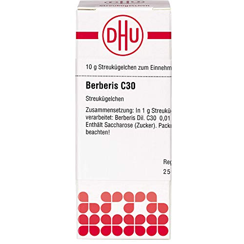 DHU Berberis C30 Streukügelchen, 10 g Globuli