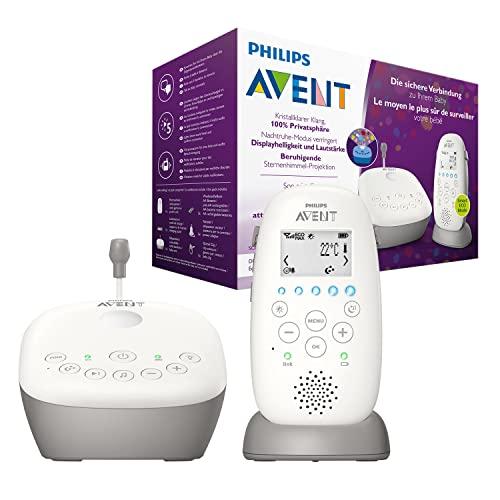 Philips Avent SCD733/00 - Vigilabebes con privacidad y seguridad DECT,