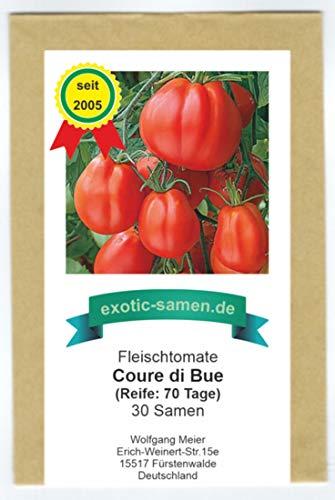 Coure Di Bue - Cœur De Bœuf - Ochsenherz-Tomate aus Italien - 30 Samen