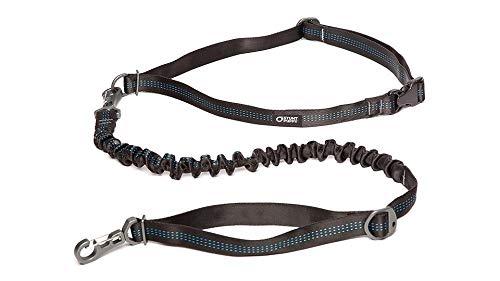 Stunt Puppy Stunt Runner Hands-Free Dog Leash, Black