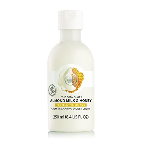 The Body Shop Almond Milk & Honey Soothing & Caring Shower Cream - 250ml
