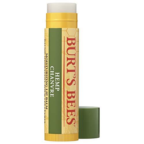 Burt s Bees Balsamo labbra idratante di origine naturale, canapa con cera d'api - 1 tubetto - 30 g