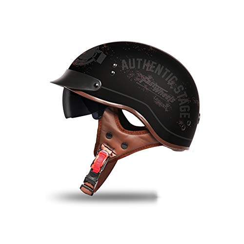 Fahrradhelme Helme für Skateboarding Unisexhalbhelm Retro-Style Zum Schutz des Kopfes (Color : #11, Size : 59-60cm)