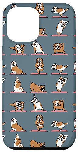 iPhone 12 Pro Max English Bulldog Yoga Case