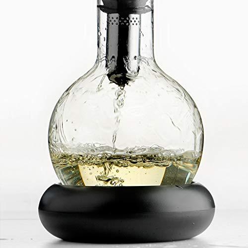 LJP rode wijn decanter met eiken stop en staal karaf schoonmaken ballen decanter accessoires