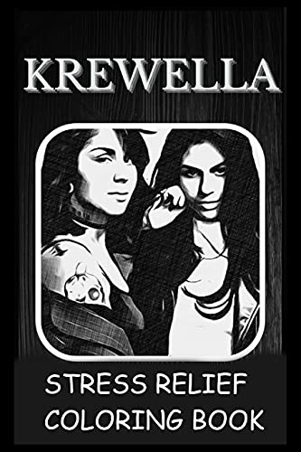 Stress Relief Coloring Book: Colouring Krewella