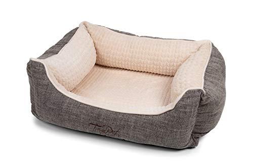 TrendPet VitaBed - Orthopädisches Hundebett mit 5cm Memofoam (60x50cm)