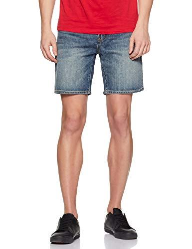 Superdry Conor Taper Short Pantalones Cortos, Azul (Byrom Mid Vintage R2x), 48 (Talla del Fabricante: 30) para Hombre