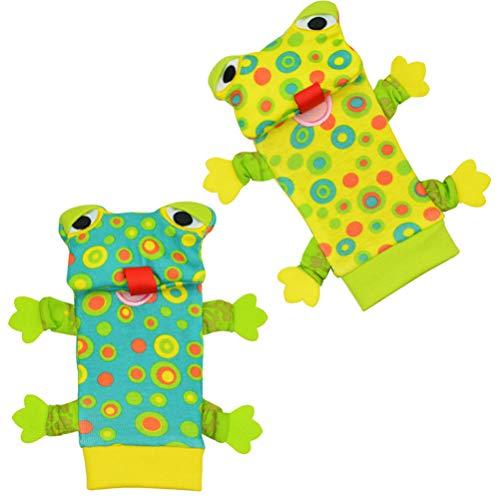 Yorimi Tier-Dekoration mit bunten Babyrasseln, Jingle Socks.