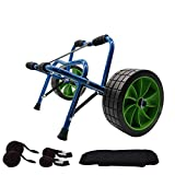 Newcod Kayak Cart Kayak Trolley Carrier Dolly Trailer for Canoe Boat with NO-Flat Airless Tires Wheels