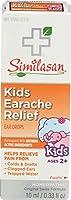 海外直送品Similasan Kids Ear Relief Drops, .33 OZ (Pack of 3)