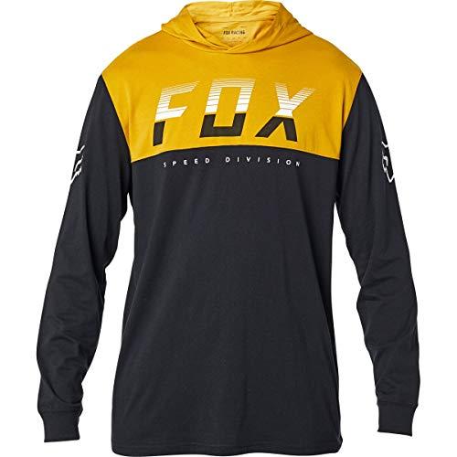 Fox Racing Mens End of The Line Top Shirts, Black, X-Large, 26375-001-XL