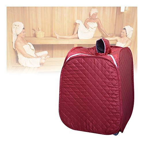 GJXJY Home Dampfsauna Zelt, 2L Tragbarer Saunas Steamer Schnellinstallation Klappbares Dampfsauna-Box mit Fernbedienung, Erhöhung Der Durchblutung, Müdigkeit Reduzieren, Entgiftend