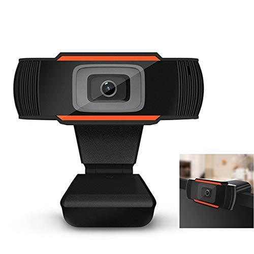 IYUNDUN Cámara Web 1080P Full HD para Computadora con Micrófono, 5 Millones De Píxeles, Cámara Web De Pantalla Ancha para Grabación De Video, Llamadas, Conferencias, Juegos, En Vivo