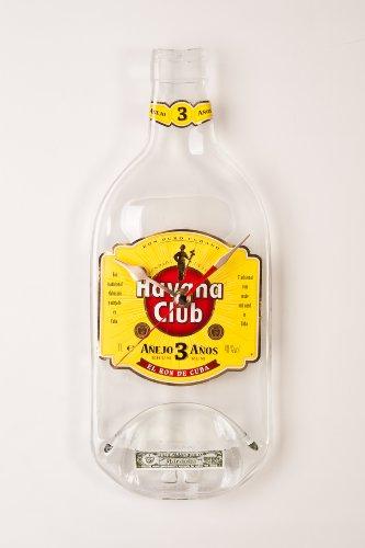 Wanduhr - Havana Club - Handgefertigtes Unikat