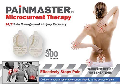 Painmaster Terapia de microcorriente para aliviar el dolor de la artritis, dolor de espalda, dolor de hombro, dolor de rodilla, dolor de cadera y dolor muscular