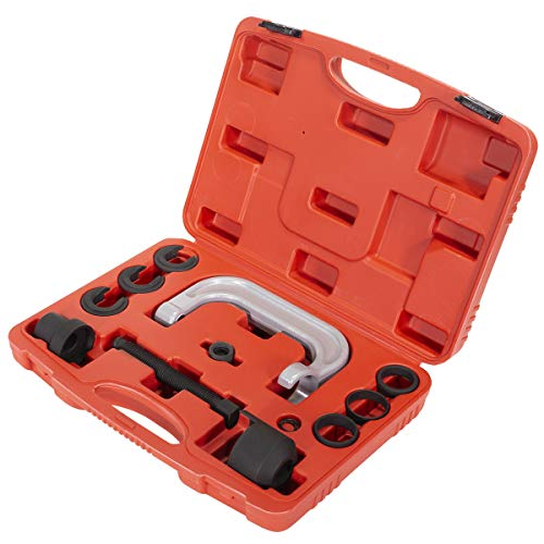 XtremepowerUS Upper Control Arm Bushing Removal Tool Repair for Ford, GM & Chrysler with Carrying Case