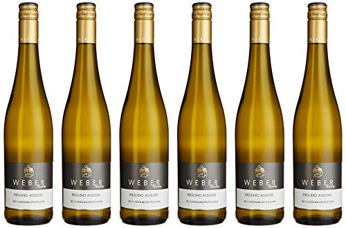 Riesling, Auslese, Weber Riesling 2017 Süß (6 x 0.75 l)