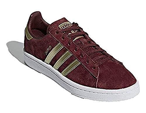 adidas Originals I-5923 - Zapatillas de deporte con cordones para hombre, Rojo (Collegiate Burdeos/Dorado metálico/Blanco Nube), 36 EU