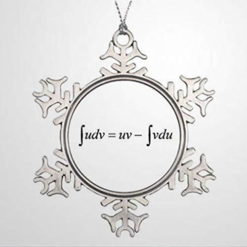 BYRON HOYLE Ornaments Engineering Integral Calculus Christmas House Decora Christmas Snowflake Ornaments Xmas Decor Wedding Ornament Holiday Present