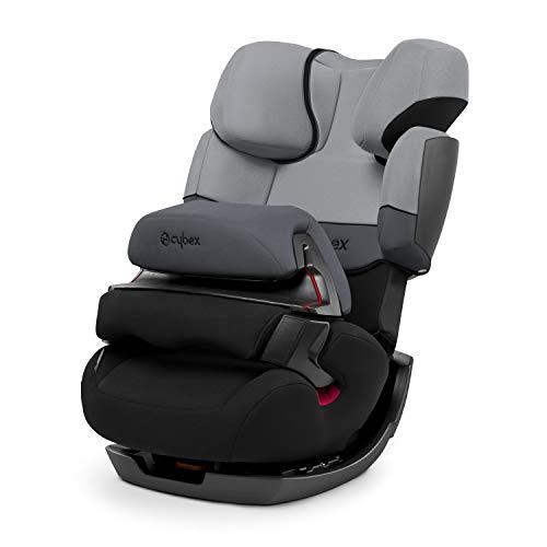 Cybex - Silla de coche grupo 1/2/3 Pallas, silla de coche 2 en 1 para niños, sin ISOFIX, 9-36 kg, desde los 9 meses hasta los 12 años aprox., color Gris/Negro (Cobblestone)