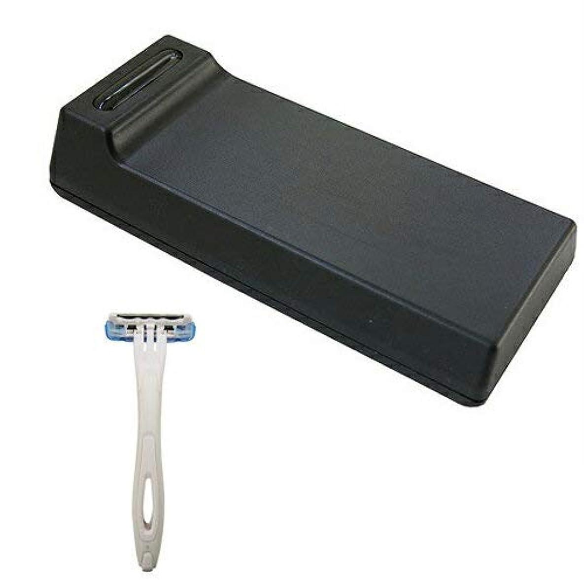 弁護摂氏通行人Cannelle カミソリ刃クリーナー BladeTech ブレードテック + 貝印 使い捨てカミソリ3枚刃