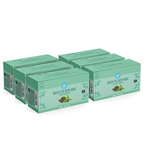 Happy Belly 150 Bolsitas de té verde con menta