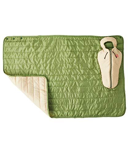 セトクラフト クッション&ブランケットS 寝袋 グリーン SF-3863-GR