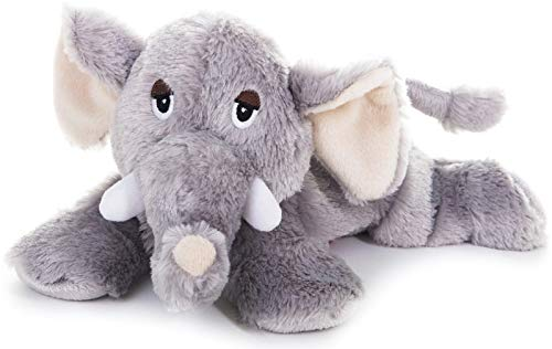 Habibi Plush Classic – 1832 Elefant mit Hirsekörnerfüllung, Wärmestofftier zum Erwärmen in der Mikrowelle/Backofen