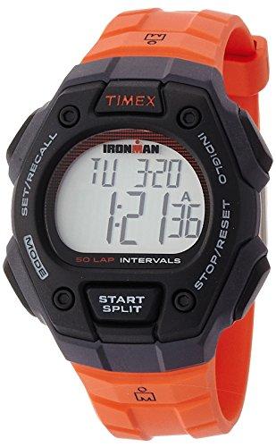 [タイメックス]TIMEX アイアンマン クラシック50ラップ フルサイズ ブラックケース オレンジストラップ...