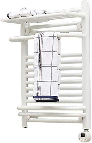 Toallero Eléctrico Calentador de toallas, Toaller Toalla Termostática, Temporizador de Toallas Eléctricas Temporizador de Toalla Cuatro Modos de Control Inteligente Para Secado rápido y Esterilización