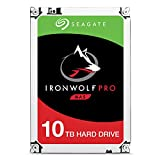 Seagate IronWolf Pro 10Tb NAS Internal Hard Drive HDD – 3.5 Inch Sata 6GB/S 7200 RPM 256MB Cache for Raid Network Attached Storage, Data Recovery Rescue Service (ST10000NE0004)