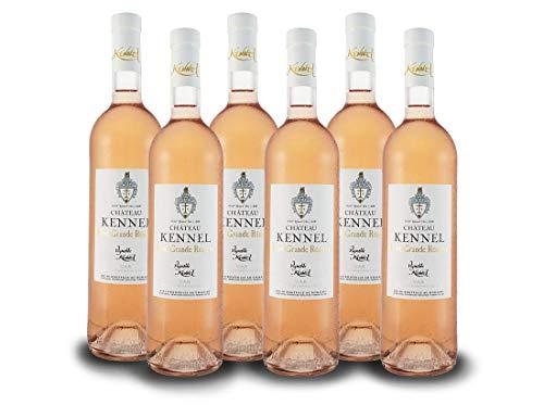 Cabernet Sauvignon - Caladoc - Merlot Château Grande Réserve Provence IGP | Vignobles Kennel | Frankreich-Provence | Vorteilspaket (6x 0,75l) Roséwein-trocken