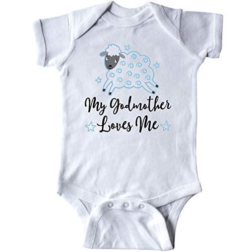 inktastic Godmother Gift for Godson Lamb Infant Creeper 6 Months White 2bf68