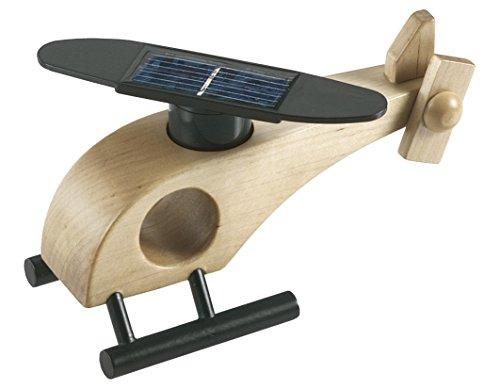 Holz Solar Helikopter - Das ERSTE Solarspielzeug der Welt !
