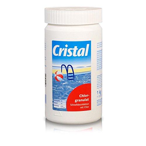 Cristal Chlorgranulat 1,0kg schnell löslich