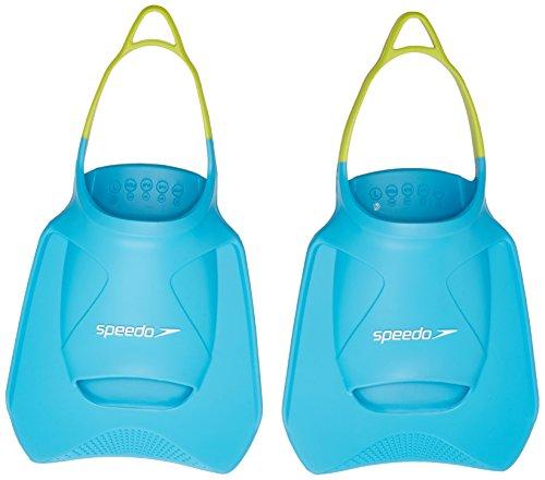 Speedo Biofuse Aleta Fitness, Adult Unisex, Turquesa/Limas Verde/Ultramarin Azul, L
