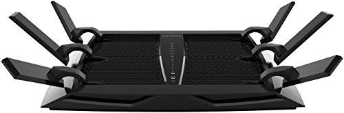 Netgear X6 Nighthawk R8000WLAN Router AC3200 (Tri-Band, bis zu 3200 MBit/s, Abdeckung bis 200m² & 50 Geräte, 4x 1G LAN- & 2x USB-Ports, inkl. 30 Tage Circle Kinderschutz & Armor Cyber-Security)