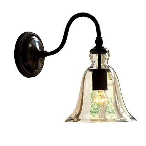ZZM Frais Applique claire et transparente grande, verre abat-jour pour Light Lamp, Bells Light Lamp