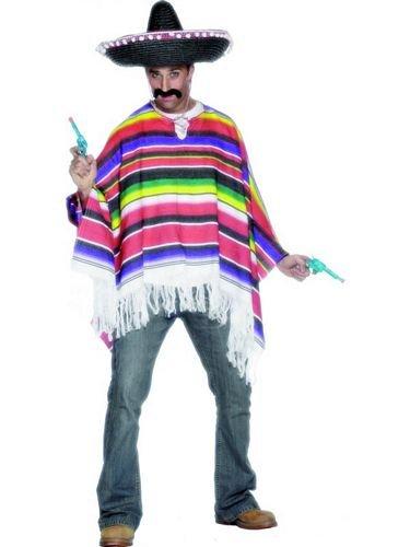 Smiffys Poncho, Multicolore