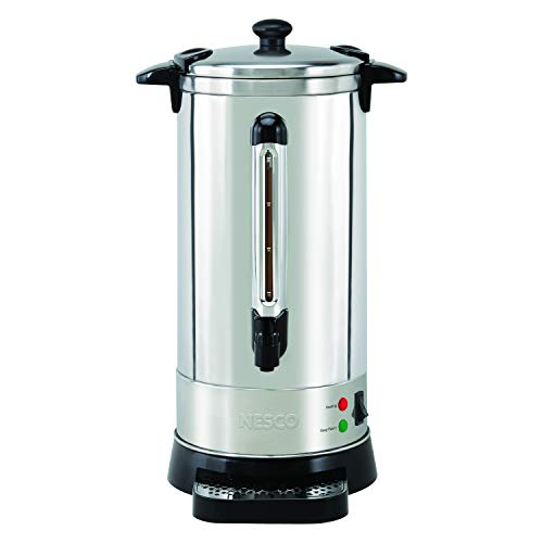 Nesco CU-50 Professional Coffee Urn, 50 Cup, Stainless Steel