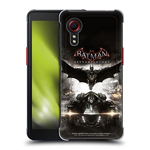 Head Case Designs sous Licence Officielle Batman Arkham Knight Art Clé Graphiques Coque Dure pour l'arrière Compatible avec Samsung Galaxy Xcover 5